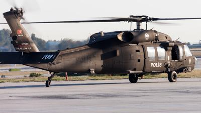 EM-706 - Sikorsky S-70i Blackhawk - Turkey - Police
