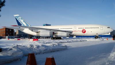 RA-86097 - Ilyushin IL-86 - S7 Airlines