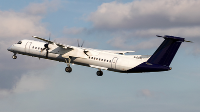 G-ECOK - Bombardier Dash 8-Q402 - Flybe