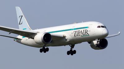 A picture of JA822J - Boeing 7878 Dreamliner - ZIPAIR - © TRAVAIR