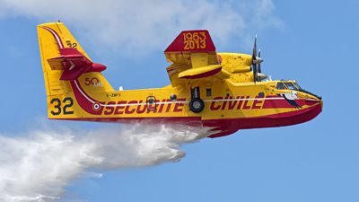 F-ZBFS - Canadair CL-415 - France - Sécurité Civile