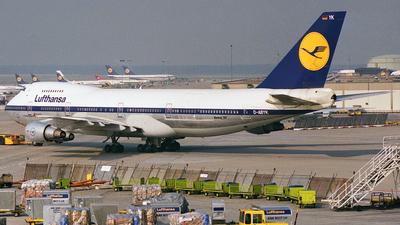D-ABYK - Boeing 747-230B(M) - Lufthansa