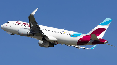 D-AEWC - Airbus A320-214 - Eurowings