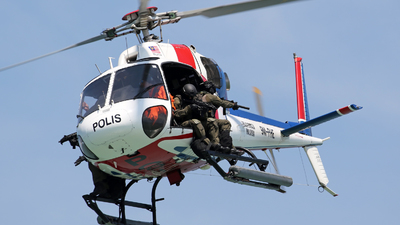 9M-PHE - Eurocopter AS 355N Ecureuil 2 - Malaysia - Police