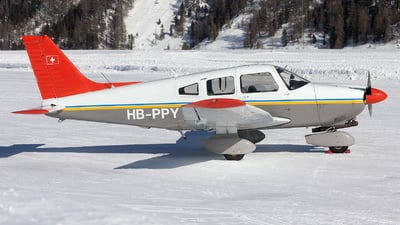 HB-PPY - Piper PA-28-181 Archer II - Flugschule Grenchen
