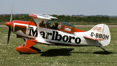 G-BBOH - Pitts S-1 Special - Marlboro Aerobatic Team