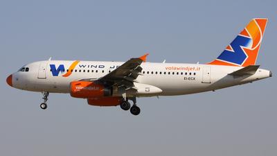 EI-ECX - Airbus A319-132 - Wind Jet