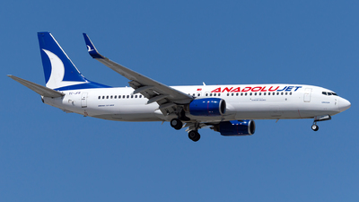 A picture of TCJFR - Boeing 7378F2 - Turkish Airlines - © Turkay Oksuz