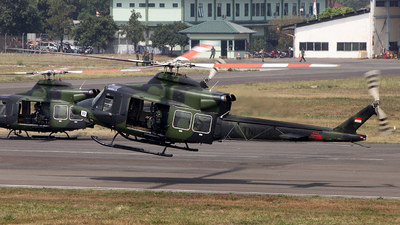 HA-5168 - Bell 412EP - Indonesia - Army