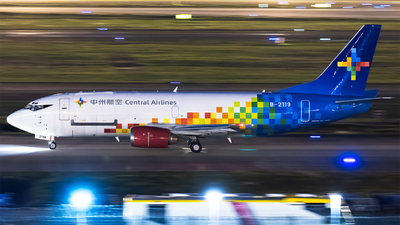 B-2119 - Boeing 737-332(SF) - Central Airlines [China]