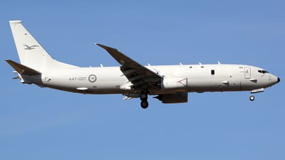 A47-007 - Boeing P-8A Poseidon - Australia - Royal Australian Air Force (RAAF)