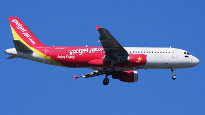 A picture of HSVKF - Airbus A320214 - VietJet Air - © Woody Wuthiwong