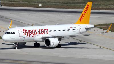 TC-NBP - Airbus A320-251N - Pegasus Airlines