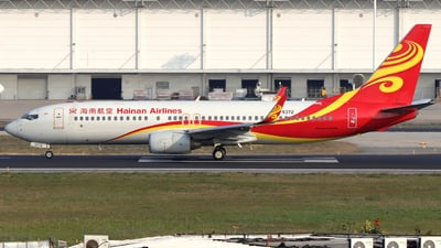 A picture of B5372 - Boeing 73784P - Hainan Airlines - © Snake_ZSAM