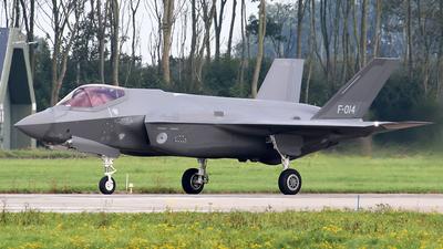 F-014 - Lockheed Martin F-35A Lightning II - Netherlands - Royal Air Force