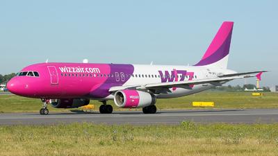 HA-LPJ - Airbus A320-233 - Wizz Air