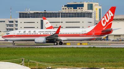 B-1470 - Boeing 737-89P - China United Airlines