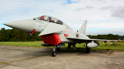 ZK382 - Eurofighter Typhoon T.3 - United Kingdom - Royal Air Force (RAF)