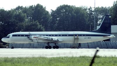 LZ-BEH - Ilyushin IL-18Gr - Balkan Bulgarian Airlines