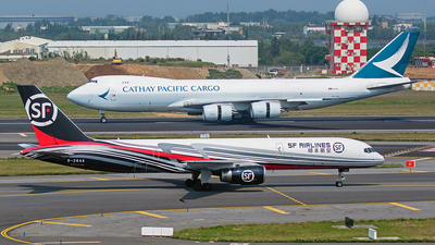 A picture of B2844 - Boeing 7572Z0(PCF) - SF Airlines - © ECHO