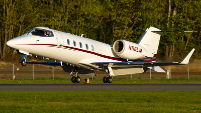 A picture of N116LM - Learjet 60 - [60142] - © Russell Hill