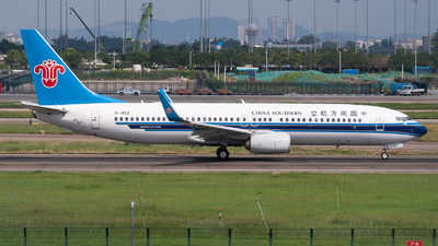 A picture of B1402 - Boeing 73781B - China Southern Airlines - © Shiori Daredemo Daisuki