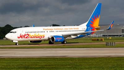 G-JZBD - Boeing 737-8MG - Jet2.com