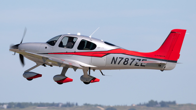N787ZE - Cirrus SR22T-GTS Carbon - Private