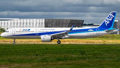 D-AYAG - Airbus A321-272NX - All Nippon Airways (ANA)