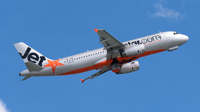 9V-JSN - Airbus A320-232 - Jetstar Asia Airways