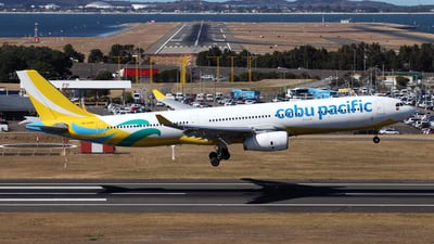 RP-C3347 - Airbus A330-343 - Cebu Pacific Air