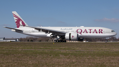 A7-BBI - Boeing 777-2DZLR - Qatar Airways