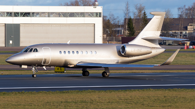 LX-MIC - Dassault Falcon 2000S - Global Jet Luxembourg