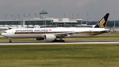9V-SNA - Boeing 777-312ER - Singapore Airlines