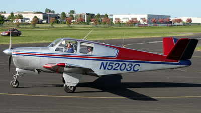 N5203C - Beechcraft 35 Bonanza - Private