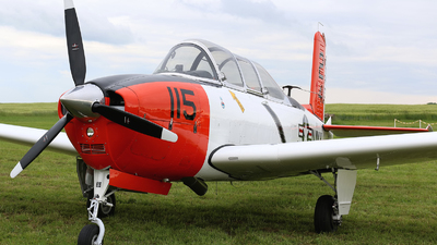 N7041U - Beechcraft T-34B Mentor - Private