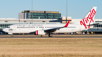 A picture of VHYID - Boeing 7378FE - Virgin Australia - © Andrew Lesty