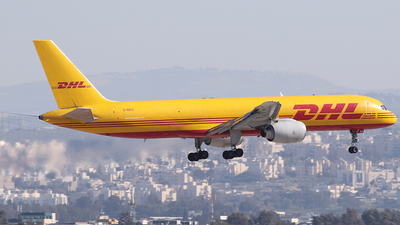 A picture of GBIKO - Boeing 757236(SF) - DHL - © Wojtek Kmiecik