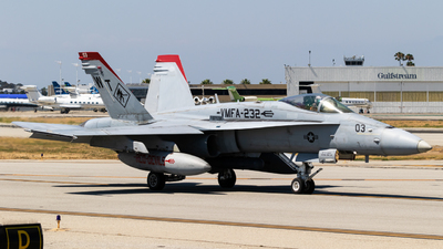 164693 - McDonnell Douglas F/A-18C Hornet - United States - US Marine Corps (USMC)