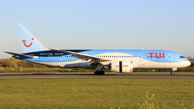 A picture of GTUIF - Boeing 7878 Dreamliner - TUI fly - © Alex MacFaul