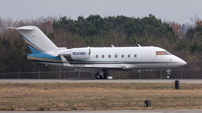 N243BA - Bombardier CL-600-2B16 Challenger 604 - Private