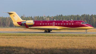 D-AFAN - Bombardier CL-600-2B19 Challenger 850 - Private