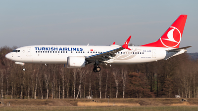 A picture of TCLCF - Boeing 737 MAX 8 - Turkish Airlines - © Maximilian Schulz