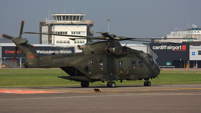 ZJ134 - Agusta-Westland Merlin HC.3 - United Kingdom - Royal Air Force (RAF)