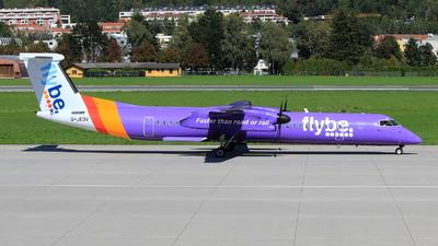 G-JEDV - Bombardier Dash 8-Q402 - Flybe