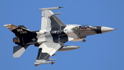 87-0313 - Lockheed Martin F-16C Fighting Falcon - United States - US Air Force (USAF)