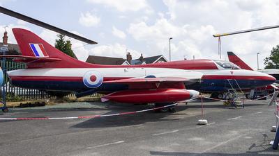 WV383 - Hawker Hunter T.7 - United Kingdom - Royal Aircraft Establishment