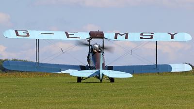 G-EMSY - De Havilland DH-82A Tiger Moth - Private