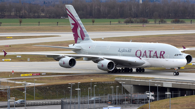 A picture of A7APH - Airbus A380861 - Qatar Airways - © Martin Nimmervoll