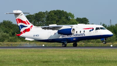 OY-NCU - Dornier Do-328-300 Jet - British Airways (Sun-Air)